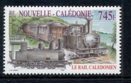 New Caledonia 2005 Railways, Trains MUH - Nueva Caledonia