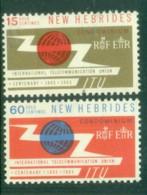 New Hebrides (Br) 1965 ITU MUH - English Legend