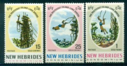 New Hebrides (Br) 1969 Pentecost Land Divers MUH Lot81396 - English Legend