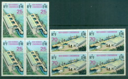 New Hebrides (Br) 1973 New Wharf Vila Blk4 MUH - English Legend