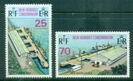 New Hebrides (Br) 1973 New Wharf Vila MUH - English Legend