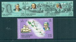 New Hebrides (Br) 1974 Capt Cook Bicentenary Of Discovery MUH - Nuevos