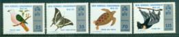 New Hebrides (Br) 1974 Nature Conservation, Bird, Butterfly, Bat, Turtle MUH - English Legend