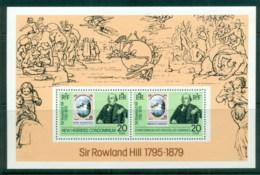 New Hebrides (Br) 1979 Sir Rowland Hill MS MUH - English Legend
