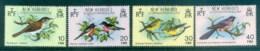New Hebrides (Br) 1980 Birds CTO - English Legend