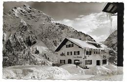 MITTELBERG Kleinwalsertal Vorarlberg Gästehaus LINDER Friseur Oberstdorf 1957 - Kleinwalsertal