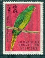 New Hebrides (Fr) 1972 Birds 2fr MLH - French Legend