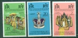 New Hebrides (Fr) 1977 QEII Silver Jubilee MUH - French Legend