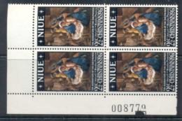 Niue 1967 Xmas Blk4 MUH - Niue