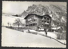 BRAND Vorarlberg Gasthof ZIMBA Bludenz Ca. 1960 - Brandertal