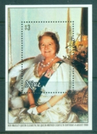 Niue 1980 Queen Mother 80th Birthday MS MUH - Niue