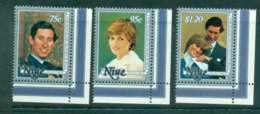Niue 1981 Charles & Diana Wedding MUH Lot45123 - Niue