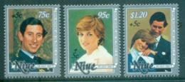 Niue 1981 Royal Wedding Charles & Diana , Welfare MUH - Niue