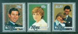 Niue 1981 Royal Wedding, Charles & Diana MUH - Niue