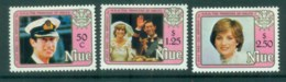 Niue 1982 Princess Diana 21st Birthday MLH Lot81979 - Niue