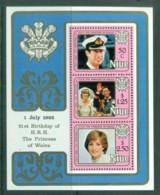 Niue 1982 Princess Diana 21st Birthday MS MUH Lot81981 - Niue