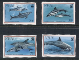 Niue 1993 WWF Marine Life, Dolphin MUH - Niue