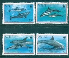 Niue 1993 WWF Pacific Dolphins MUH Lot64083 - Niue