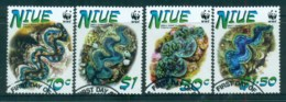 Niue 2002 WWF Giant Clam FU Lot81488 - Niue