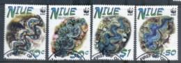 Niue 2002 WWF Small Giant Clam FU - Niue