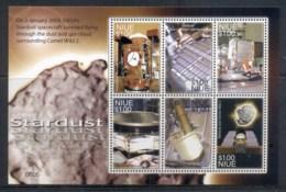 Niue 2007 Stardust Space Probe MS MUH - Niue