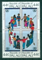 Palau 1985 IYY Intl. Youth Year Blk4 MUH - Palau