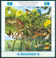 Palau 1989 Stilt Mangrove Fauna Sheetlet MUH - Palau