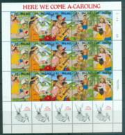 Palau 1990 Xmas Sheetlet MUH - Palau