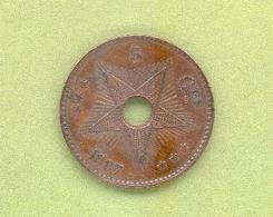 ETAT INDEPENDANT DU CONGO (1885-1908) – Léopold II – 5 Centimes 1887 - Congo (Belgian) & Ruanda-Urundi