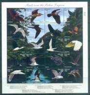 Palau 1996 Birds Over Palau Lagoon Sheetlet MUH - Palau