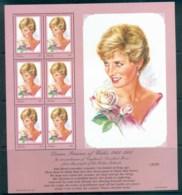 Palau 1997 Princess Diana In Memoriam MS MUH Lot82038 - Palau