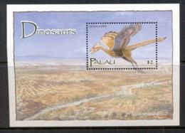 Palau 2004 Prehistoric Animals, Dinosaurs MS MUH - Palau