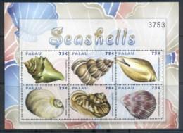 Palau 2009 Seashells MS MUH - Palau