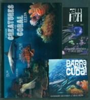 Palau 2011 Dangerous Creatures And Coral Reefs 3xMS MUH Lot81419 - Palau