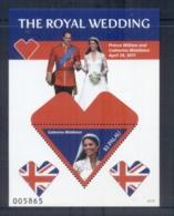 Palau 2011 Royal Wedding William & Kate #1117 $2 MS MUH - Palau