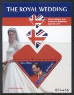 Palau 2011 Royal Wedding William & Kate #1118 $2 MS MUH - Palau