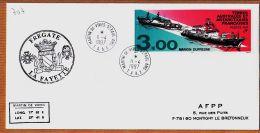 M701 TAAF Frégate LA FAYETTE 11-04-1997 MARTIN-de-VIVIES SAINT-PAUL ST T.A.A.F - Terres Australes Et Antarctiques Françaises (TAAF)