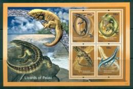 Palau 2012 Lizards Of Palau  98c Solomon Is Skink MS MUH Lot81417 - Palau