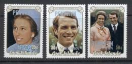Penrhyn Is 1973 Royal Wedding Princess Anne Opts MUH - Penrhyn