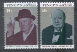 Penrhyn Is 1974 Sir Winston Churchill MS MUH - Penrhyn