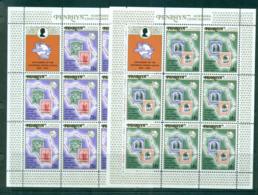 Penrhyn Is 1974 UPU Centenary Sheetlets + Label MUH Lot56491 - Penrhyn