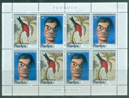 Penrhyn Is 1978 Cooks Arrival Bicent., Birds MS MUH - Penrhyn