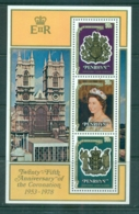 Penrhyn Is 1978 QEII Coronation Anniv MS MUH Lot71992 - Penrhyn