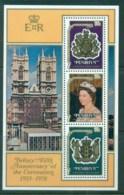 Penrhyn Is 1978 QEII Coronation, 25th Anniversary , Royalty MS MUH - Penrhyn