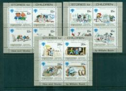 Penrhyn Is 1979 IYC Intl. Year Of Children 3xMS MUH Lot81357 - Penrhyn