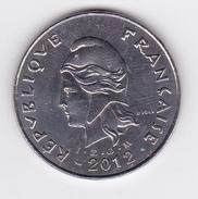 Polynésie Française / Tahiti - Pièce De 50 FCFP - 2012 - SUP++ - French Polynesia