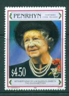 Penrhyn Is 1995 Queen Mother 95th Birthday MUH Lot30080 - Penrhyn