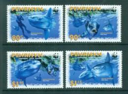 Penrhyn Is 2003 WWF Ocean Sunfish MUH Lot73225 - Penrhyn