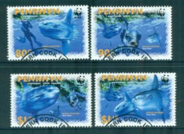 Penrhyn Is 2003 WWF Sunfish FU Lot81490 - Penrhyn