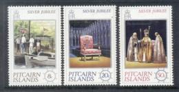 Pitcairn Is 1977 QEII Silver Jubilee MUH - Pitcairninsel